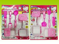 Item 682441 Pink Kitchen Pretend Playset Kitchen Chef Play Toys