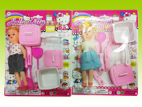 Item 682440 Baby Doll Kitchen Pretend Playset Kitchen Chef Play Toys