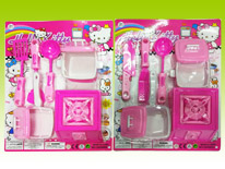 Item 682439 Pink Kitchen Pretend Playset Assortment2 Kitchen Chef Play Toys