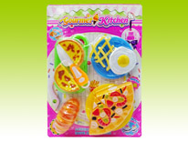 Item 681174 Gourmet Kitchen Playset Pie Meal Safety Guaranteed Kitchen Toys for Children