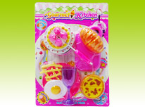 Item 681202 Gourmet Kitchen Playset Cakes and Bread Ver 2 Safety Guaranteed Kitchen Toys for Children