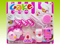 Item 632857 Cake Mania Cake Making Playset Pink Ver Kitchen Pretend Play for Kids